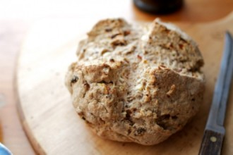 Feta and Sun-Dried Tomato Soda Bread